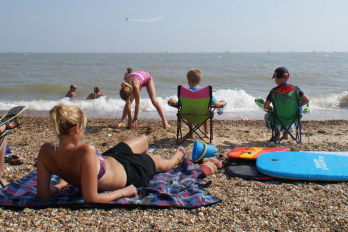Tendring beaches keep three Blue Flags
