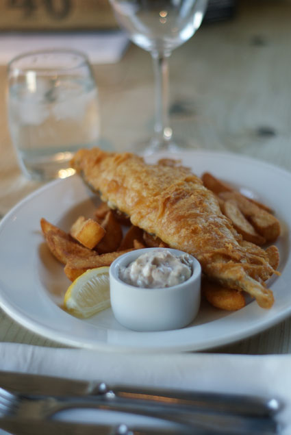Fish & Chips at The Pier in Harwich