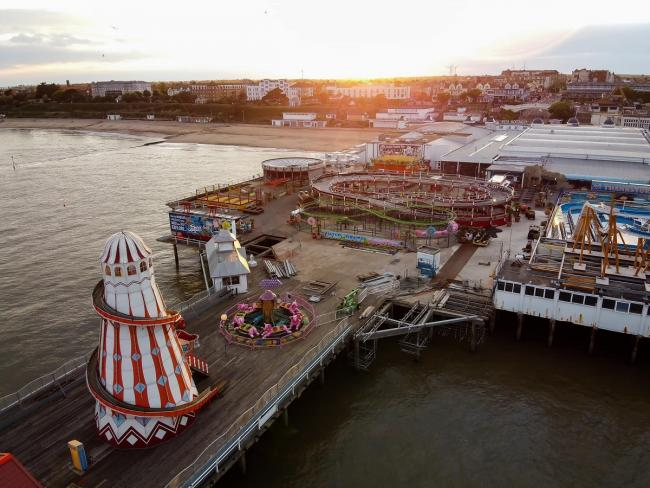 Clacton Pier has been crowned Pier of the Year