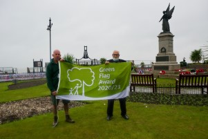 Clacton Green Flag