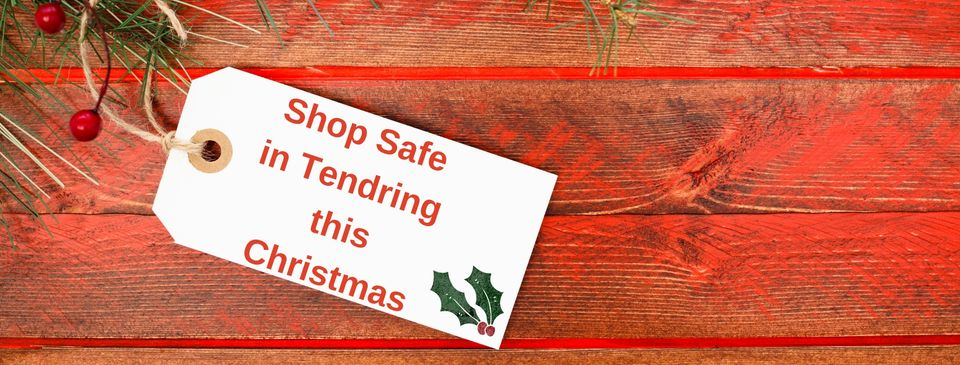 Shop safe in Tendring at Christmas