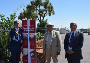Heritage trail launches to mark Clacton's birthday