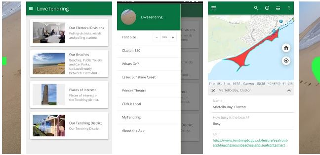 Relaunched app shows how busy beaches are on Essex Sunshine Coast