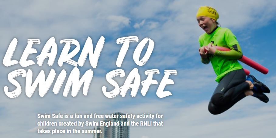 Swim Safe - Swim England and the RNLI's free water safety sessions